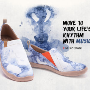 Music chase by UIN footwear